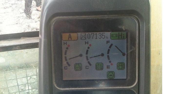 小松挖掘机360仪表盘怎样看水温多少度?