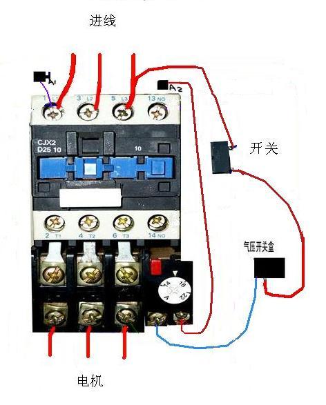 62lv5 擅长:暂未定制 向ta提问私信ta 热继电器和气压开关盒和接触器