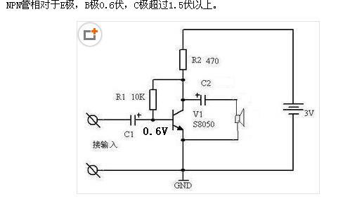 另外,三极管还有三种放大电路:即共发射极放大电路,共基极放大电路,共