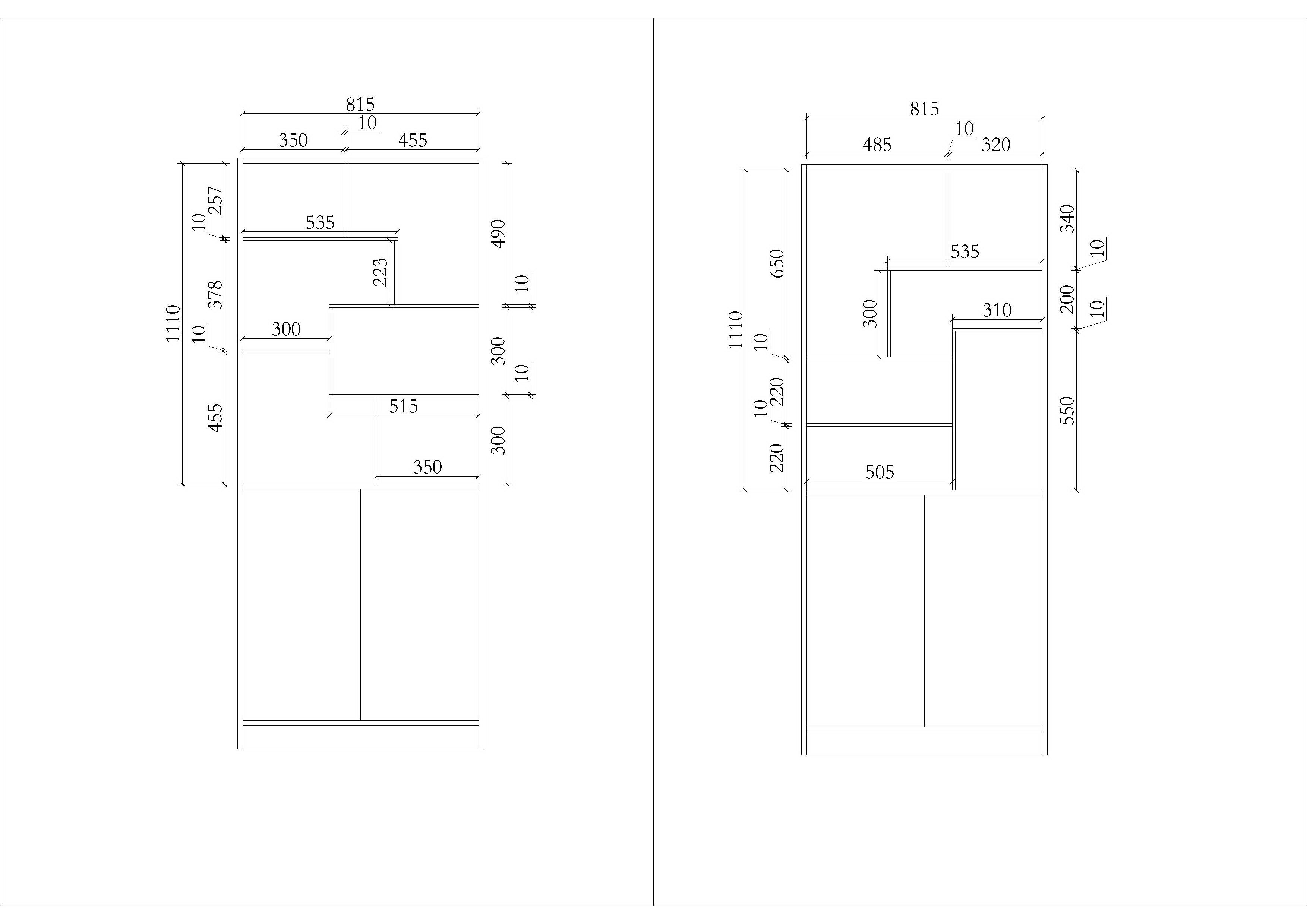 求家庭玻璃展示柜/酒柜设计图(100分跪求)