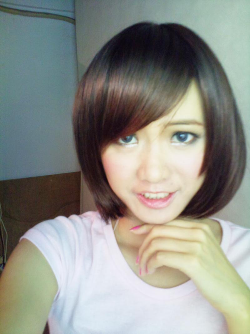 初中生女生短发发型图片