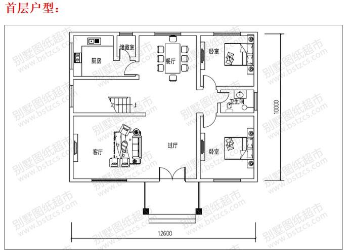 求农村二层小别墅设计图纸(施工,结构,水电等全套)图片
