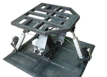电动座椅导槽机械图解