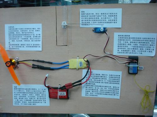请问航模的无刷电调,无刷电机,遥控接收机之间是怎么样连接的,听说电