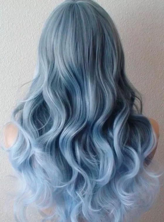 头发怎么染成灰蓝色?