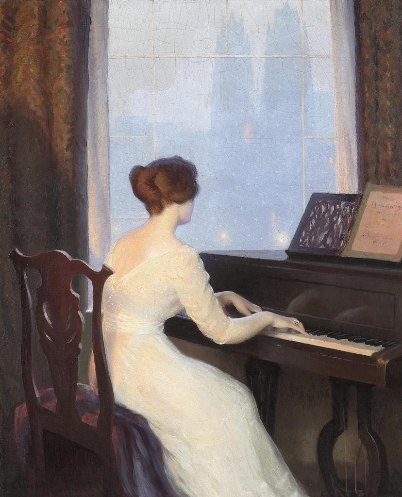 弹钢琴或者谈吉他女生图片乐器的都可以 要好看的