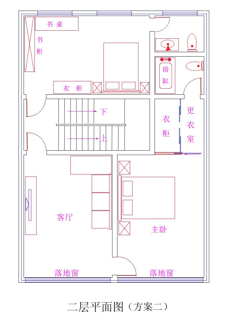 农村自建房设计图如何设计?长12.2米宽8米朝南方向设计建三层.