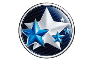 五颗星星的车标是什么车图片