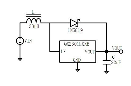 请问3.7v转5v简单升压电路