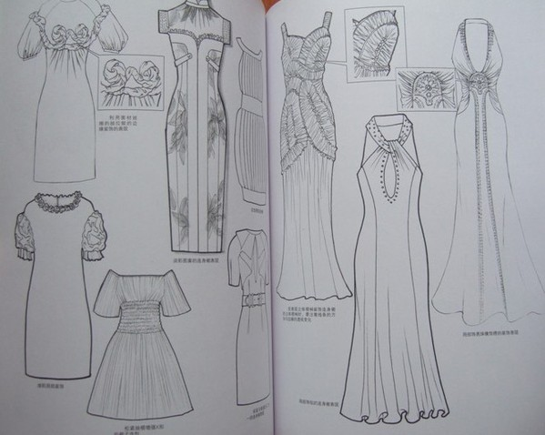 衣服简笔画画法步骤