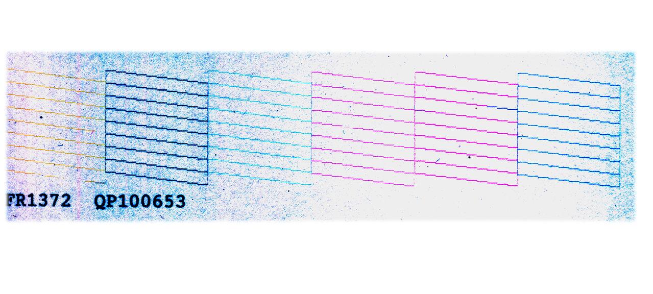 爱普生r270打印喷嘴检测发现串色 多次清洗无效 而且是固定位置 求