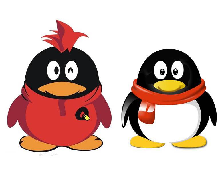 求一个qq会员红毛小q的高清大图logo图片