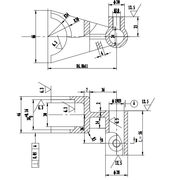 工装电路系统图模板