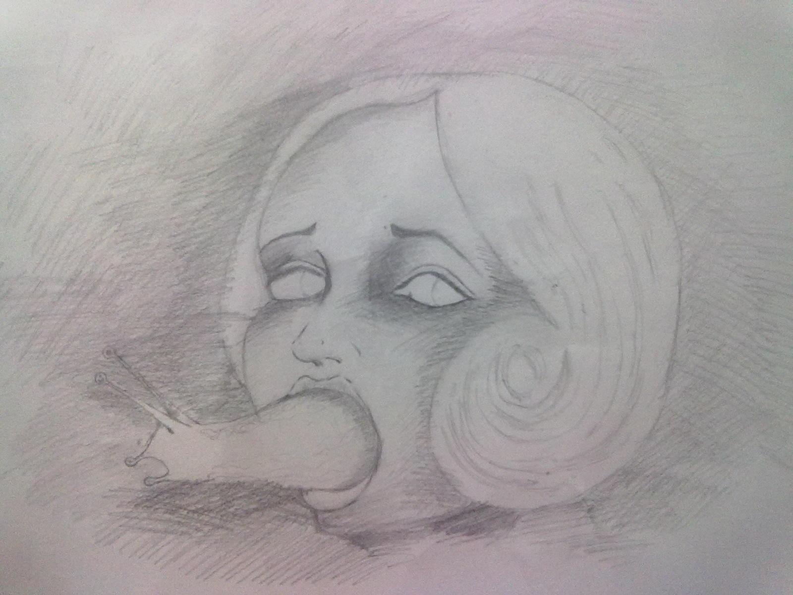 用炭笔怎么画人物肖像头发