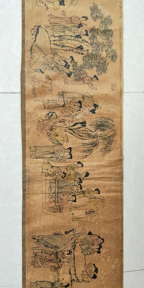 杨寿平的百美图有真品吗?我这有一幅不知道是不是真的