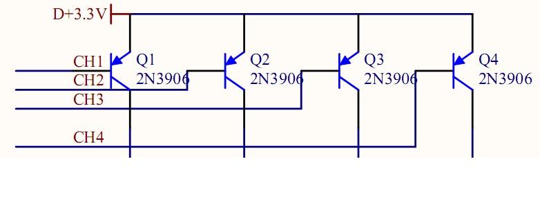 请问这个电路图为什么不能用npn型数码管来驱动共阳极