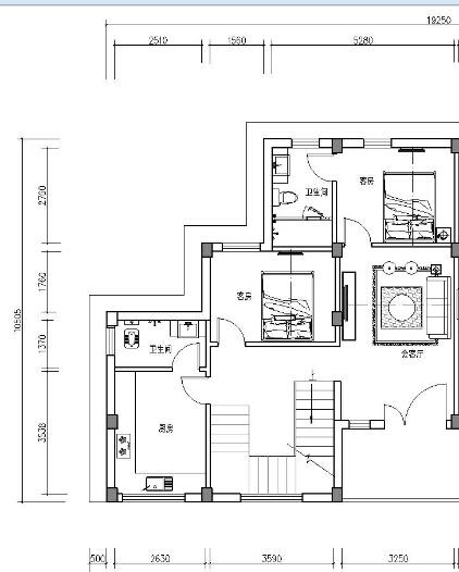 房屋风水问题:这个房子地基算不算前宽后窄?(附平面图