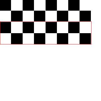 ps里如何制作黑白格子的图片?