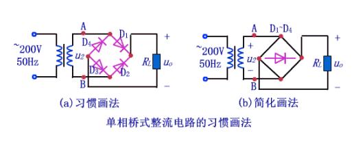 什么是单相桥式整流电路?