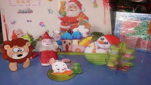 幼儿园圣诞节手工制作衣服;需要废材料做的图片有吗?