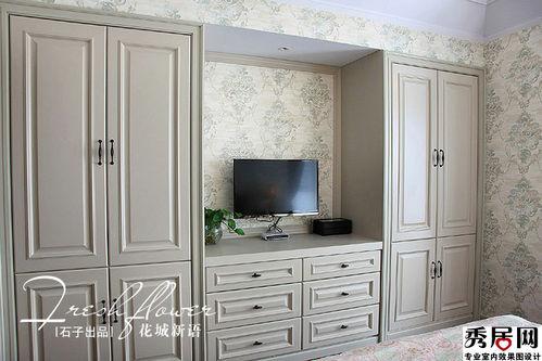 卧室里电视柜和衣柜柜子的哪种一体叫名字绘制ug效果图装修图片