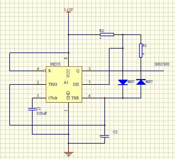 输出电路300ma,如需要可用继电器或三极管放大.