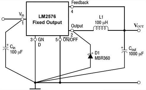 求一个12v转5v的电源芯片 最好为开关电源 效率越高越图片
