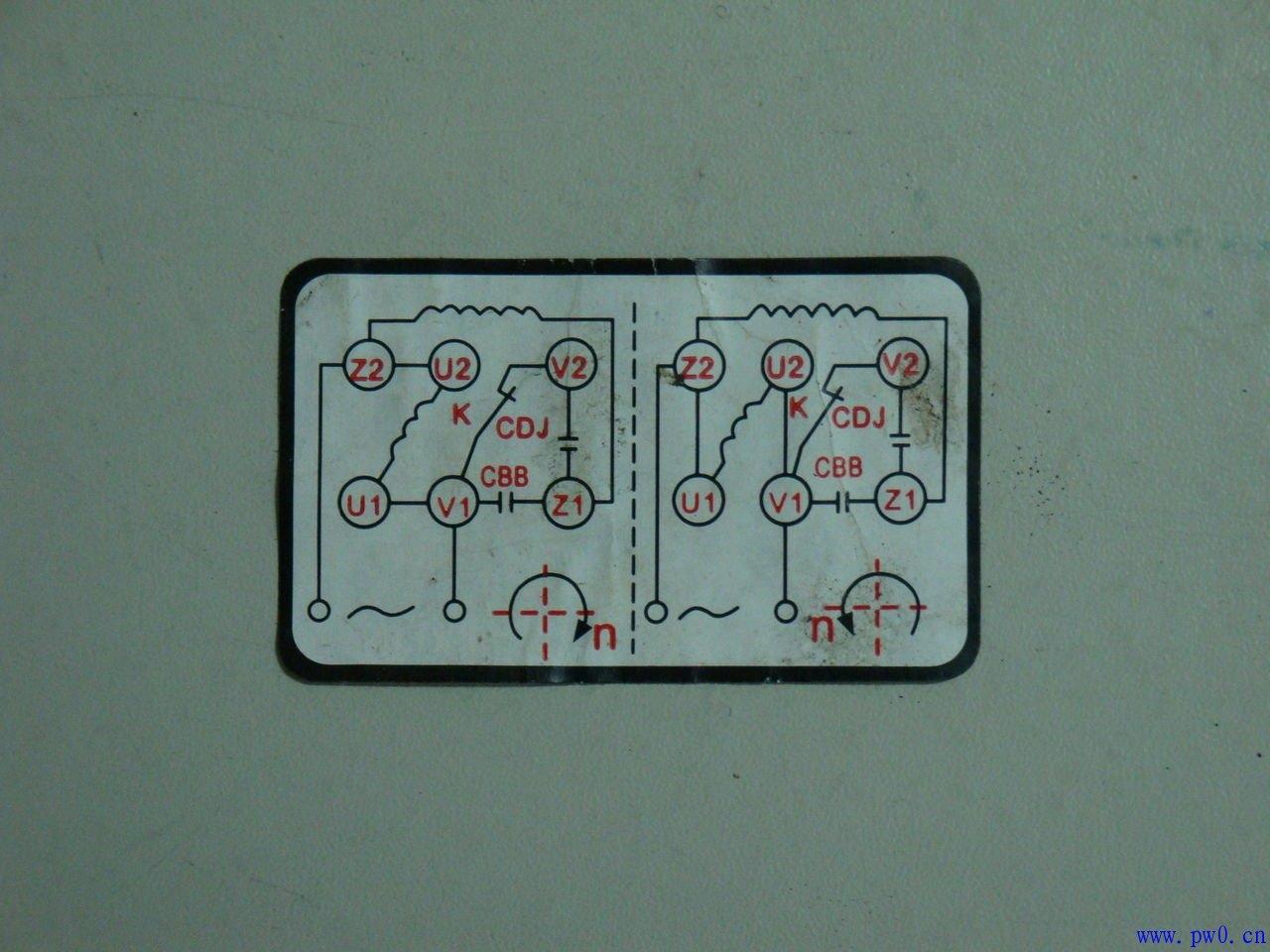 急需单相电机(两个电容)用三相倒顺开关怎么接线!急!最好给出图!