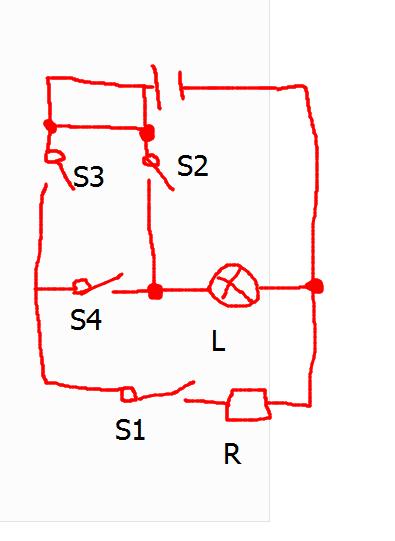 初中物理的一道电路图