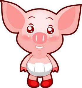 以前老版qq宠物猪的头像_百度知道