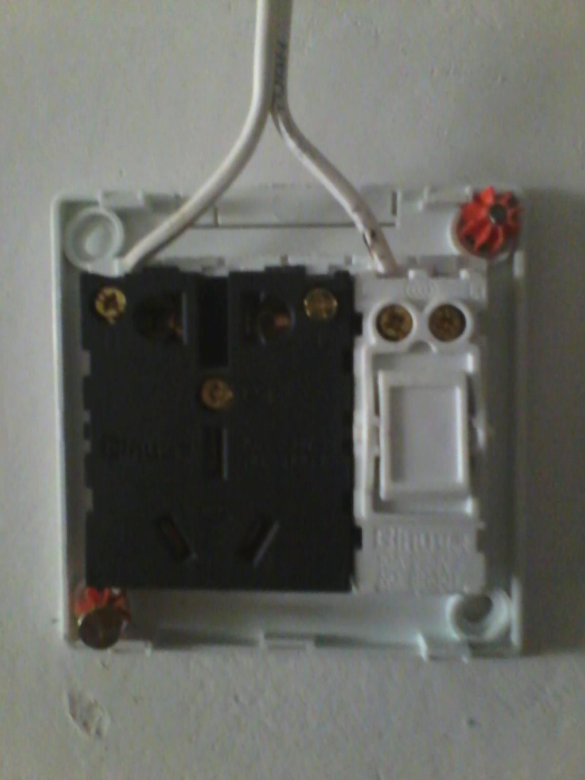 带开关插座接线图