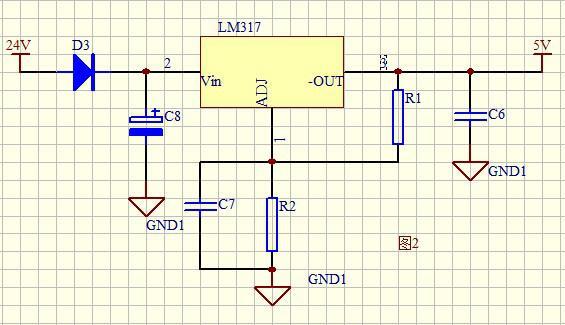 24v-5v转换电路分析
