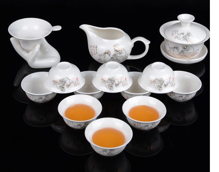 茶具ps素材图片