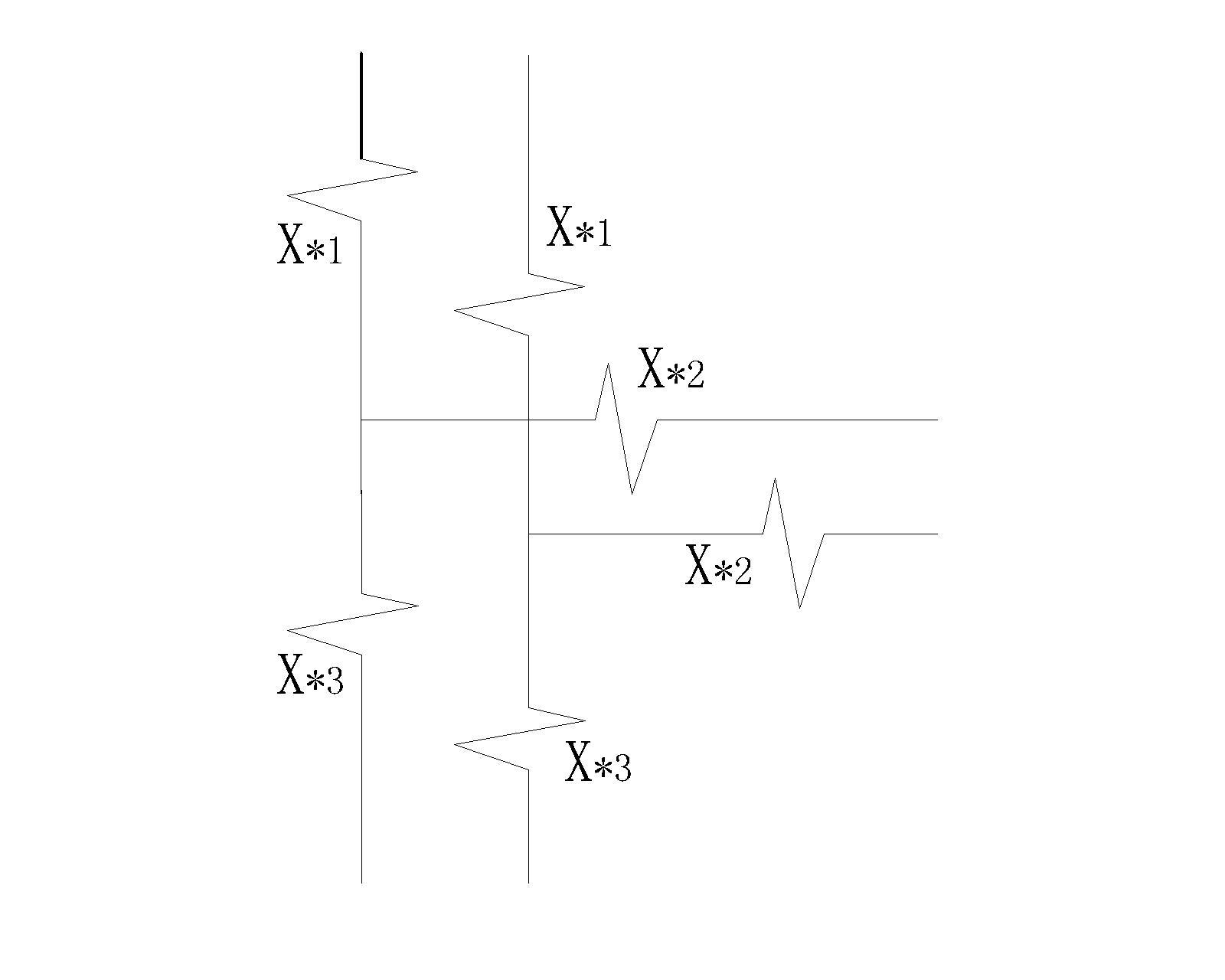 变压器短路计算 等值电路图