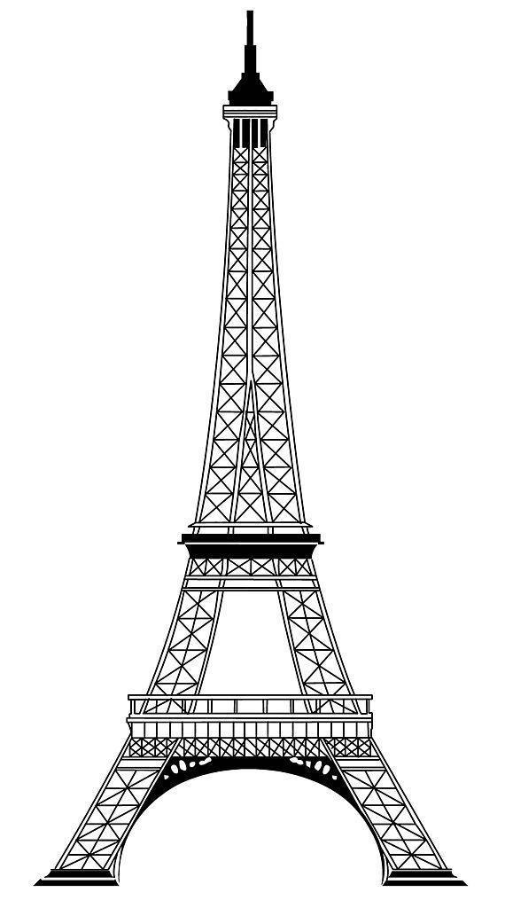 哪儿有埃菲尔铁塔的图片,要a4纸大小的图片
