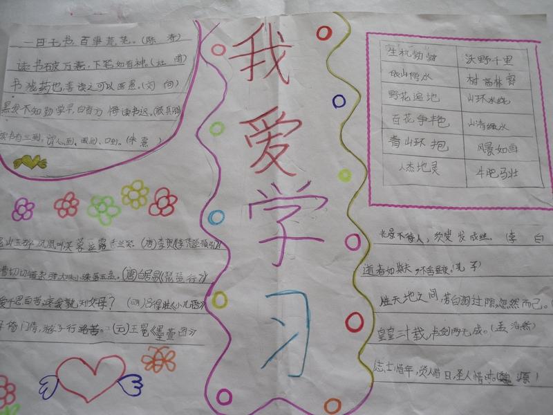 三年级手抄报《我远运动我快乐》有什么图片