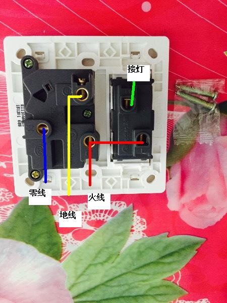 插座有零线,开关没有零线,只有控制线(灯线),是不一样的.