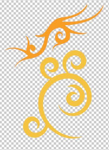 如图,请问用ps的钢笔怎么画这些花纹出来的?以下是我的问题:1.图片
