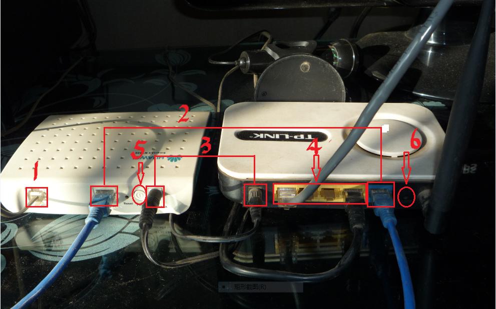路由器,猫,电脑之间的网线如何连接?
