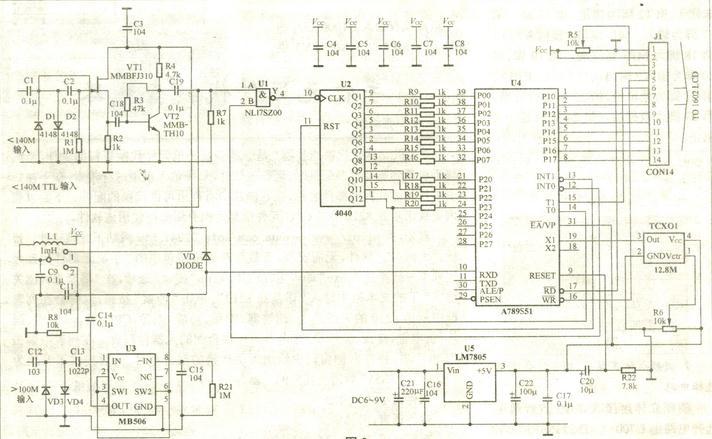 74hc393八分频的电路