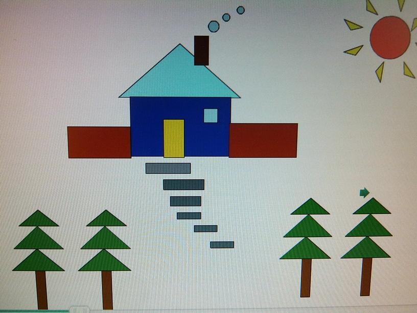 用简单的几何图形拼画环保图片图片