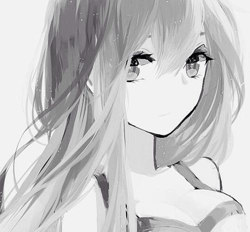 女生头像,要背影的,要无字的,要灰色的,求图,谢谢.