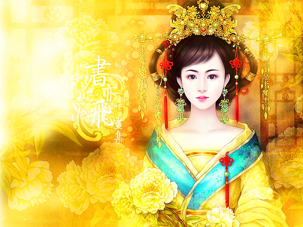 求古代美女丹青图片,想要清纯长公主类型的