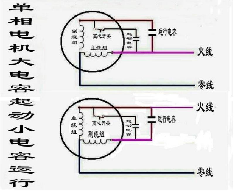 220v调速电机接线图解