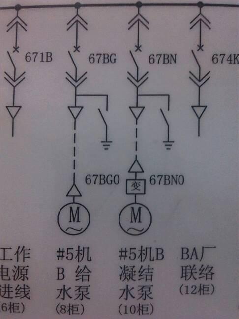 电路图中的三角符号和箭头分别代表什么?