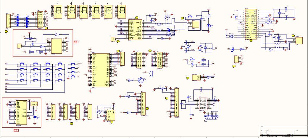 求郭天祥老师新编51单片机实验板的电路原理图 请发到