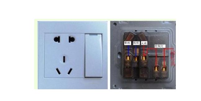 墙壁插座内部怎样接线?