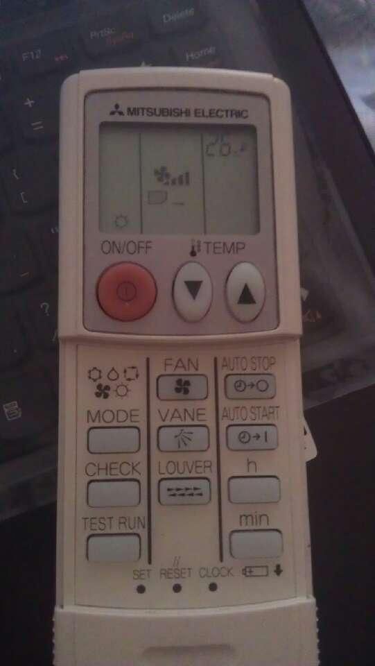三菱空调遥控器图标 按键求解释