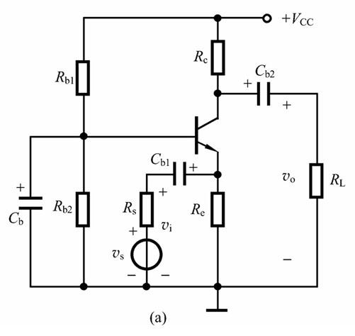 共基极放大器简单说:就是信号发射极输入,集电极输出,称呼共基极电路