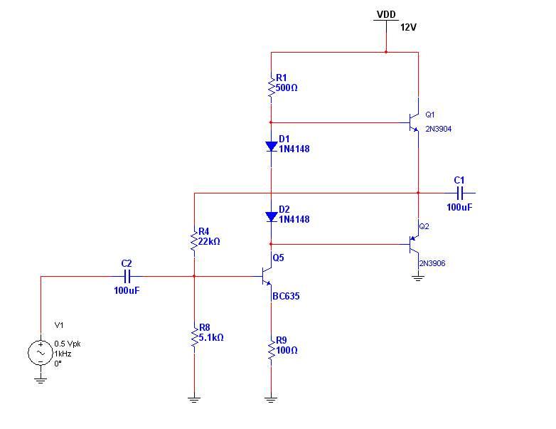 音频功率放大器电路设计